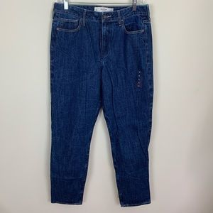 NWT Abercrombie & Fitch High Rise Boyfriend Jeans